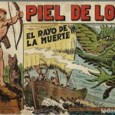 Tebeos: PIEL DE LOBO Nº 42 - EL RAYO DE LA MUERTE - EDITORIAL MAGA AÑOS 60 - ORIGINAL. Lote 202598648
