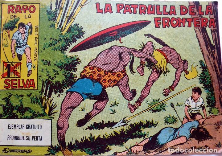 COM-204. RAYO DE LA SELVA. NÚMERO 1. ORIGINAL. EDITORIAL MAGA. VALENCIA. AÑO 1960 (Tebeos y Comics - Maga - Rayo de la Selva)
