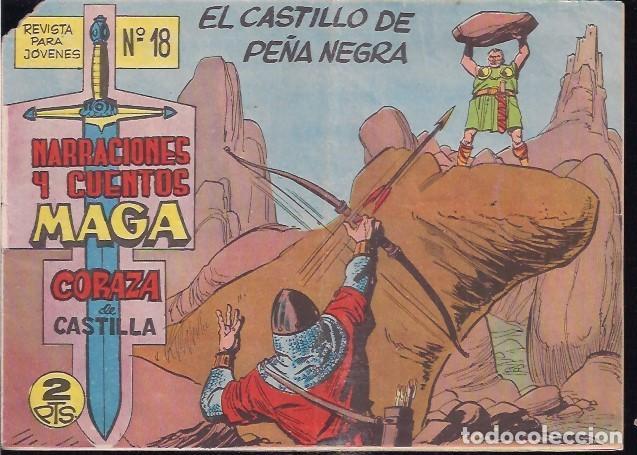 CORAZA DE CASTILLA Nº 18 (Tebeos y Comics - Maga - Otros)