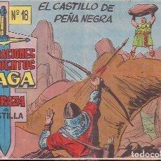 Tebeos: CORAZA DE CASTILLA Nº 18. Lote 203045792