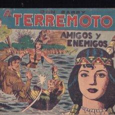 Tebeos: DAN BARRY EL TERREMOTO Nº 73. Lote 203046826