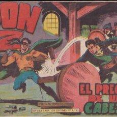 Tebeos: DON Z Nº 16 EL PRECIO DE UNA CABEZA. Lote 203788610