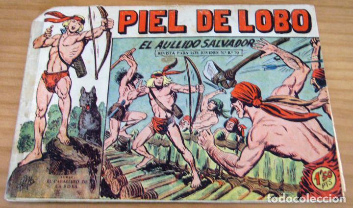 ORIGINAL - PIEL DE LOBO - NUMERO 78: EL AULLIDO SALVADOR (Tebeos y Comics - Maga - Piel de Lobo)