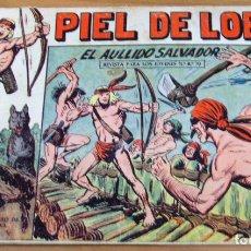 Tebeos: ORIGINAL - PIEL DE LOBO - NUMERO 78: EL AULLIDO SALVADOR. Lote 203831831