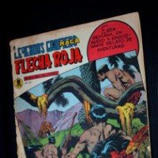 Tebeos: FLECHA ROJA Nº 62 - LEYENDAS GRÁFICAS (EDITORIAL MAGA 1962). Lote 204079565