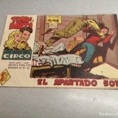 Tebeos: TONY Y ANITA Nº 10 / SEGUNDA - MAGA ORIGINAL. Lote 204124646