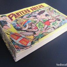 Tebeos: PANTERA NEGRA DEL 1 AL 53 (1956, MAGA) -SUBCOLECCION- COMPLETA ( A FALTA DEL Nº54). Lote 204413922