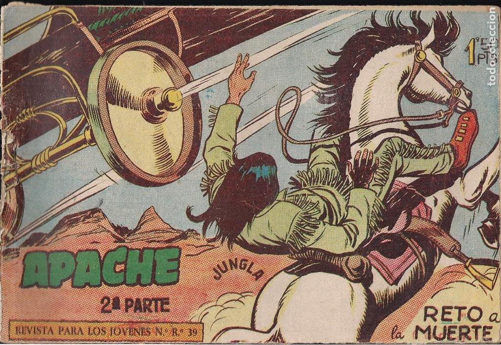 APACHE 2ª PARTE Nº 5 (Tebeos y Comics - Maga - Apache)