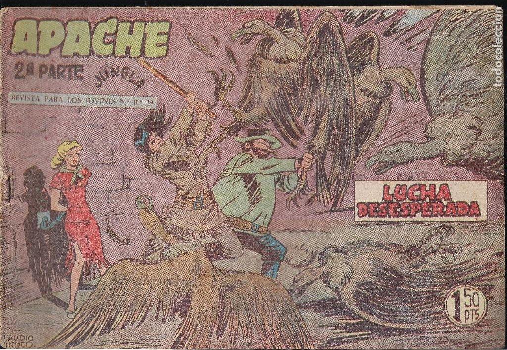 APACHE 2ª PARTE Nº 27. LUCHA DESESPERADA (Tebeos y Comics - Maga - Apache)