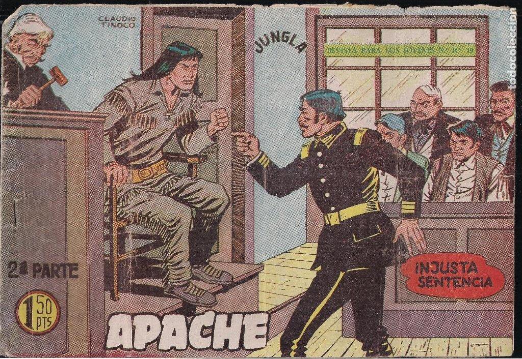 APACHE 2ª PARTE Nº 31. INJUSTA SENTENCIA (Tebeos y Comics - Maga - Apache)