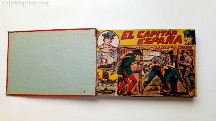 (LEER DESCRIPCION) EL CAPITAN ESPAÑA - ENCUADERNADO EN UN TOMO - ORIGINAL, NO REEDICIÓN - ED. MAGA (Tebeos y Comics - Maga - Otros)