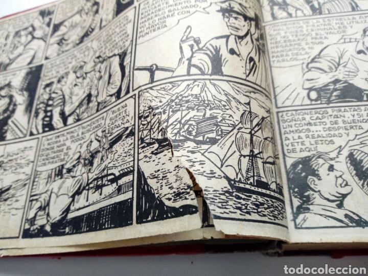 Tebeos: (LEER DESCRIPCION) EL CAPITAN ESPAÑA - encuadernado en un tomo - ORIGINAL, NO reedición - Ed. MAGA - Foto 4 - 205659380