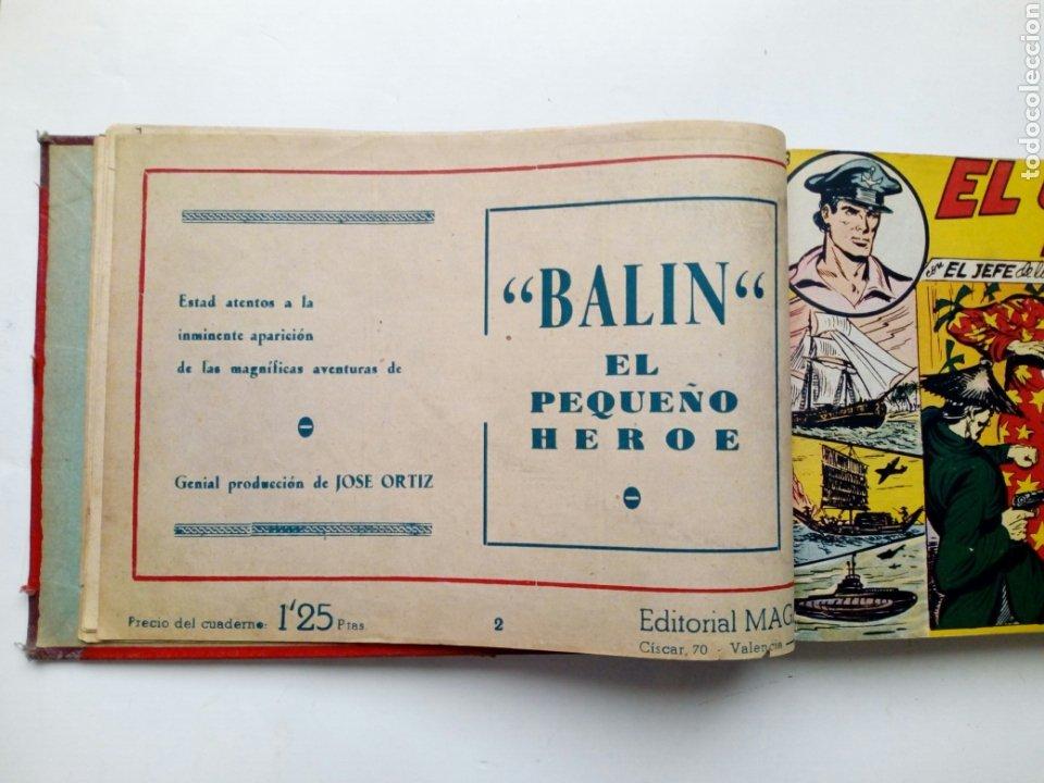 Tebeos: (LEER DESCRIPCION) EL CAPITAN ESPAÑA - encuadernado en un tomo - ORIGINAL, NO reedición - Ed. MAGA - Foto 5 - 205659380