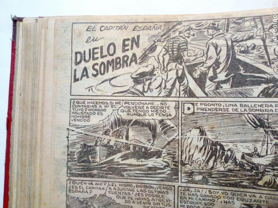 Tebeos: (LEER DESCRIPCION) EL CAPITAN ESPAÑA - encuadernado en un tomo - ORIGINAL, NO reedición - Ed. MAGA - Foto 13 - 205659380
