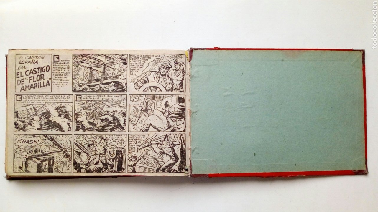 Tebeos: (LEER DESCRIPCION) EL CAPITAN ESPAÑA - encuadernado en un tomo - ORIGINAL, NO reedición - Ed. MAGA - Foto 22 - 205659380