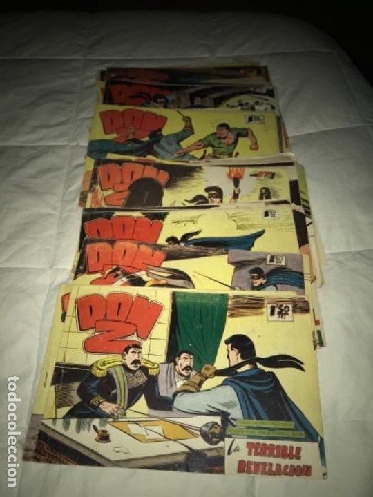 LOTE DE 41 NºS DON Z ORIGINALES EDITORIAL MAGA 1959 (Tebeos y Comics - Maga - Don Z)