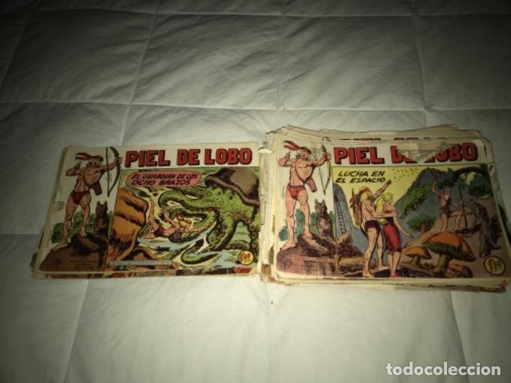LOTE DE PIEL DE LOBO ORIGINAL EDI. MAGA 1959 (Tebeos y Comics - Maga - Piel de Lobo)