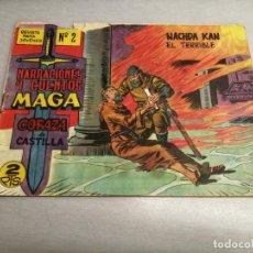 Tebeos: CORAZA DE CASTILLA Nº 2 / MAGA ORIGINAL. Lote 205725668