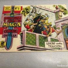 Tebeos: CORAZA DE CASTILLA Nº 8 / MAGA ORIGINAL. Lote 205726365