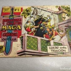 Tebeos: CORAZA DE CASTILLA Nº 8 / MAGA ORIGINAL. Lote 205726593