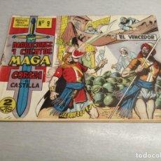 Tebeos: CORAZA DE CASTILLA Nº 9 / MAGA ORIGINAL. Lote 205726866
