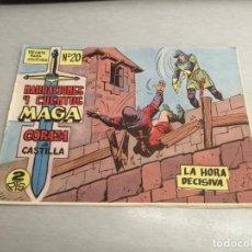 Tebeos: CORAZA DE CASTILLA Nº 20 / MAGA ORIGINAL. Lote 205727461