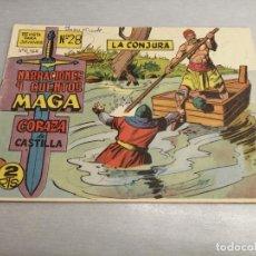 Tebeos: CORAZA DE CASTILLA Nº 28 / MAGA ORIGINAL. Lote 205728691
