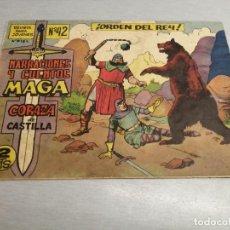 Tebeos: CORAZA DE CASTILLA Nº 42 / MAGA ORIGINAL. Lote 205729743