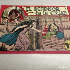 Tebeos: EL DEFENSOR DE LA CRUZ Nº 22 / MAGA ORIGINAL. Lote 205776932