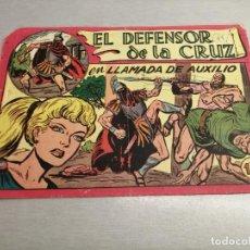 Tebeos: EL DEFENSOR DE LA CRUZ Nº 45 / MAGA ORIGINAL. Lote 205788722