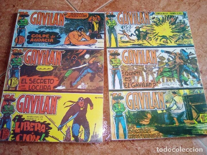 EL GAVILAN.COLECCION COMPLETA DE 25 NUMEROS EN DOS TOMOS.EDICIONES JLA. (Tebeos y Comics - Maga - Otros)