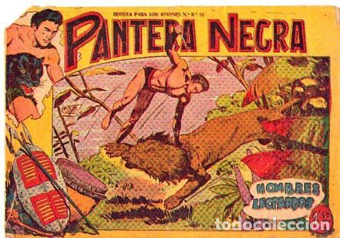 PANTERA NEGRA (MAGA) Nº 3 (Tebeos y Comics - Maga - Pantera Negra)