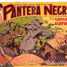 Tebeos: PANTERA NEGRA (MAGA) Nº 5. Lote 206184717