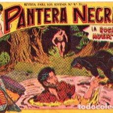 Tebeos: PANTERA NEGRA (MAGA) Nº 6 PORTADA MAL. Lote 206184817