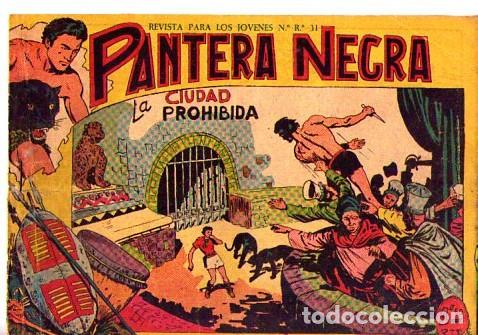 PANTERA NEGRA (MAGA) Nº 8 DE ENCUADERNACION (Tebeos y Comics - Maga - Pantera Negra)