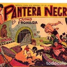 Tebeos: PANTERA NEGRA (MAGA) Nº 8 DE ENCUADERNACION. Lote 206184858