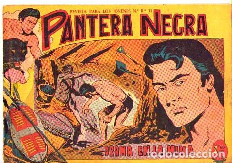 PANTERA NEGRA (MAGA) Nº 11 DE ENCUADERNACION (Tebeos y Comics - Maga - Pantera Negra)