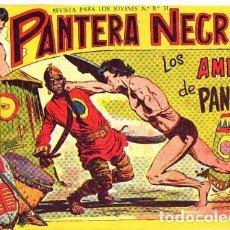 Tebeos: PANTERA NEGRA (MAGA) Nº 10 DE ENCUADERNACION. Lote 206185095