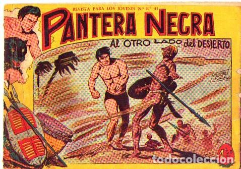 PANTERA NEGRA (MAGA) Nº 12 DE ENCUADERNACION (Tebeos y Comics - Maga - Pantera Negra)
