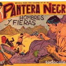 Tebeos: PANTERA NEGRA (MAGA) Nº 13. Lote 206185682