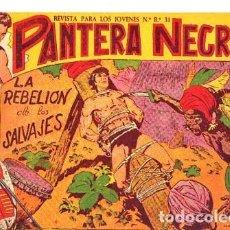 Tebeos: PANTERA NEGRA (MAGA) Nº 14 DE ENCUADERNACION. Lote 206215813