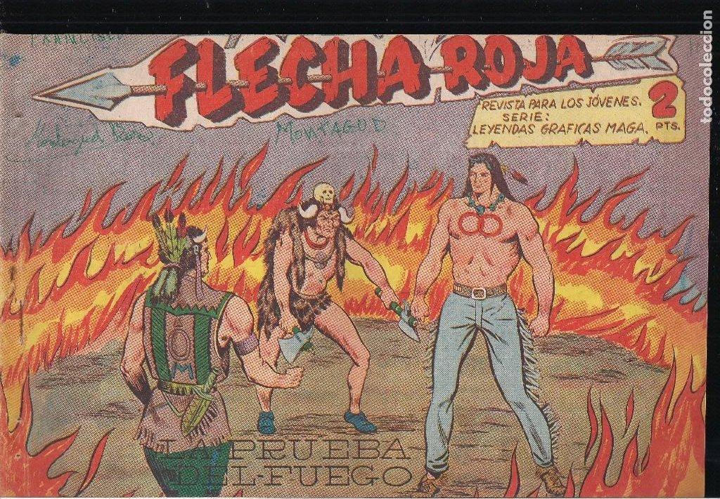 FLECHA ROJA Nº 5: LA PRUEBA DEL FUEGO (Tebeos y Comics - Maga - Flecha Roja)