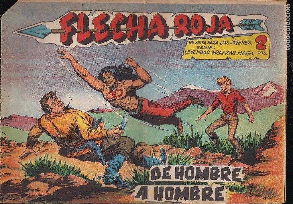 FLECHA ROJA Nº 72: DE HOMBRE A HOMBRE (Tebeos y Comics - Maga - Flecha Roja)