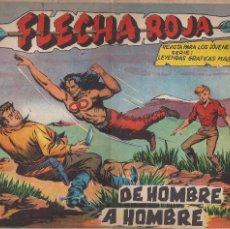 Tebeos: FLECHA ROJA Nº 72: DE HOMBRE A HOMBRE. Lote 206451801