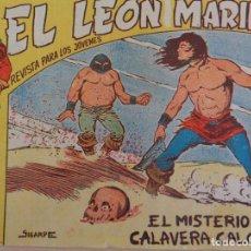 Tebeos: LEÓN MARINO Nº 12. EL MISTERIO DE LA CALAVERA CALCINADA. EDITA MAGA. Lote 206557211