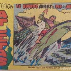 Tebeos: COLECCIÓN ATLETAS Nº 6. DE BUENOS AIRES A RIO DE JANEIRO. EDITA MAGA. Lote 206558161