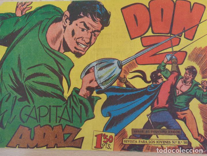 DON Z Nº 15. ORIGINAL. EL CAPITÁN AUDAZ. EDITA MAGA (Tebeos y Comics - Maga - Don Z)