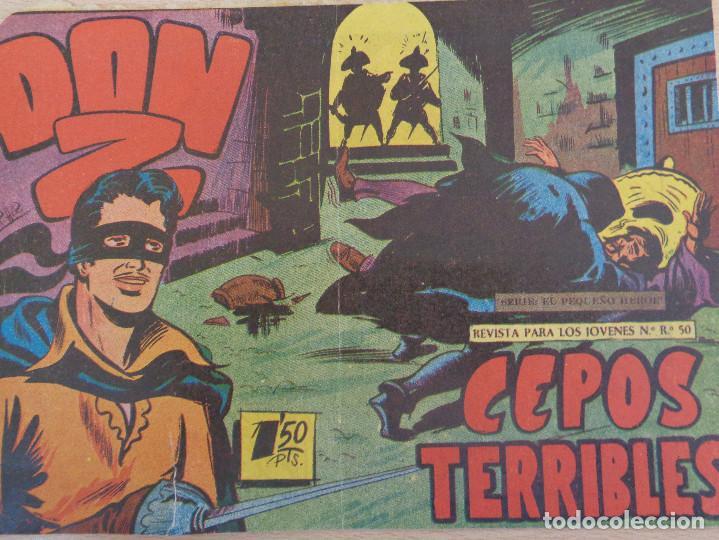 DON Z Nº 18. ORIGINAL. CEPOS TERRIBLES. EDITA MAGA (Tebeos y Comics - Maga - Don Z)