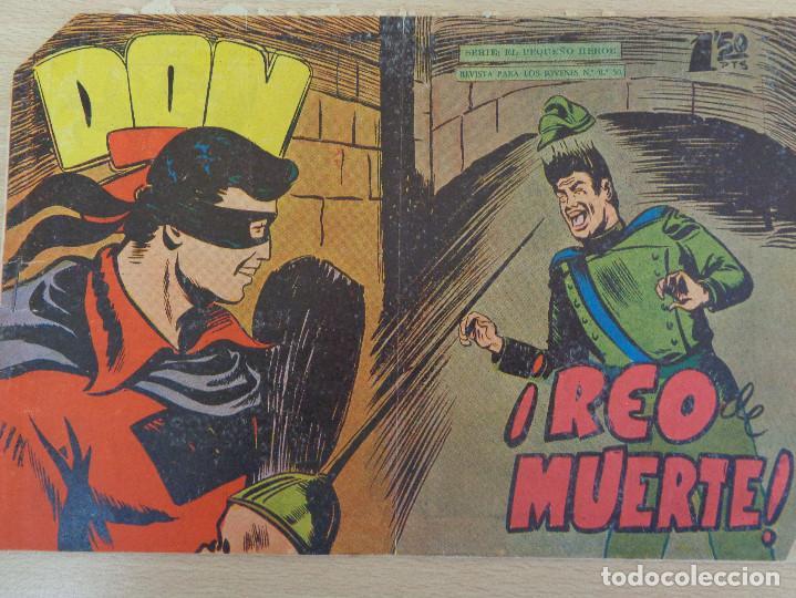 DON Z Nº 44. ORIGINAL. REO DE MUERTE. EDITA MAGA (Tebeos y Comics - Maga - Don Z)