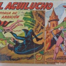 Tebeos: EL AGUILUCHO Nº 29. HISTORIA DE UNA AMBICIÓN. EDITA MAGA. Lote 206560406